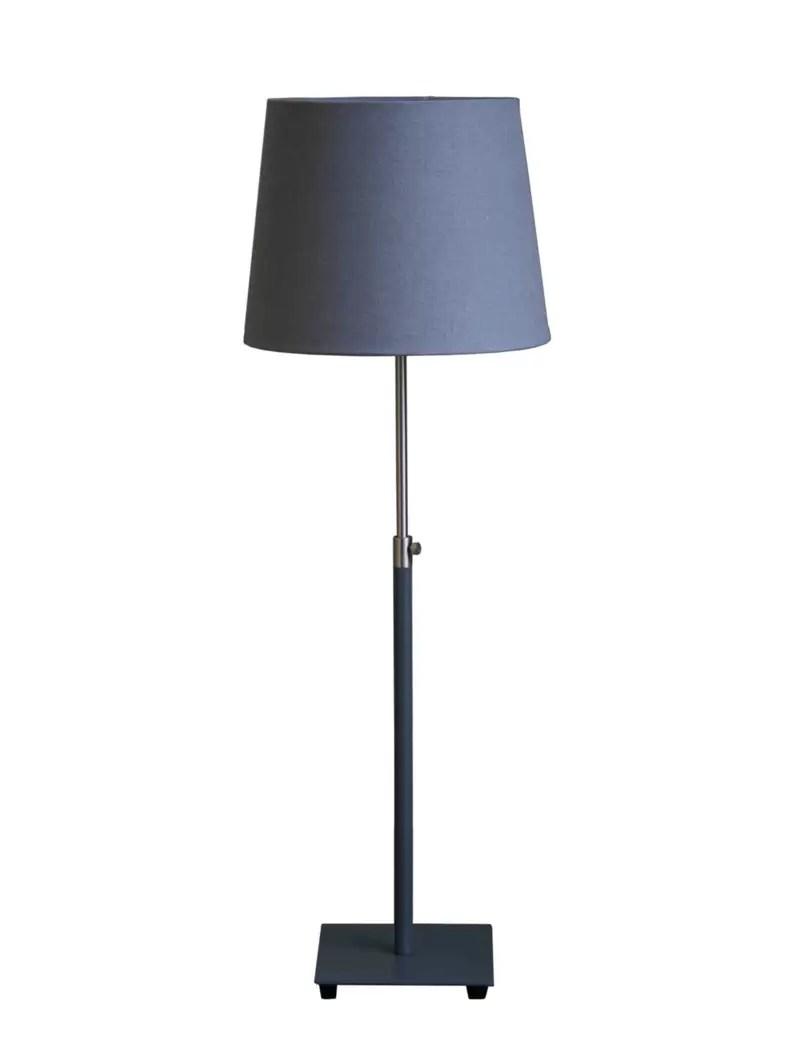 Baltic Grey Table Lamp With Shade Amos Lighting Home
