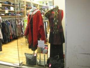 More tunics over pants, shawl
