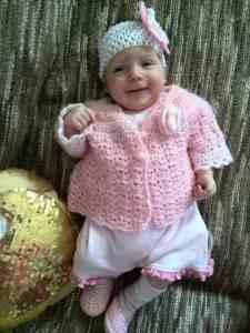 Hedva's baby Rebecca