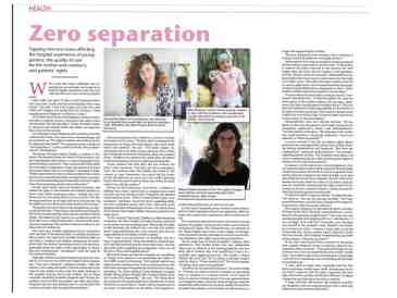 Article as appears in Jerusalem Post Metro supplement