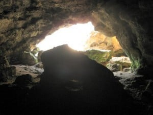 View from Inside Cave