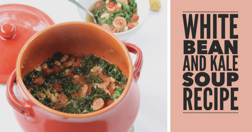 White Bean and Kale Soup--A Quick Dinner Recipe 1