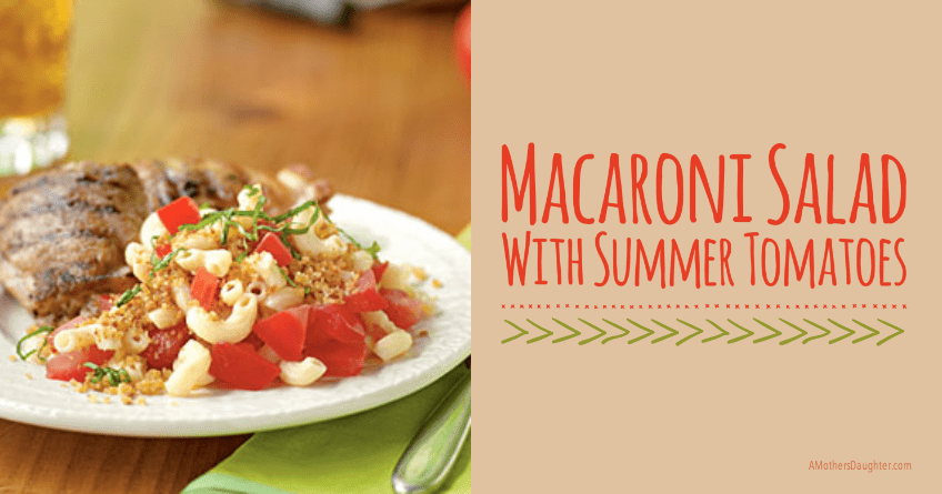 Macaroni Salad with Summer Tomatoes 2