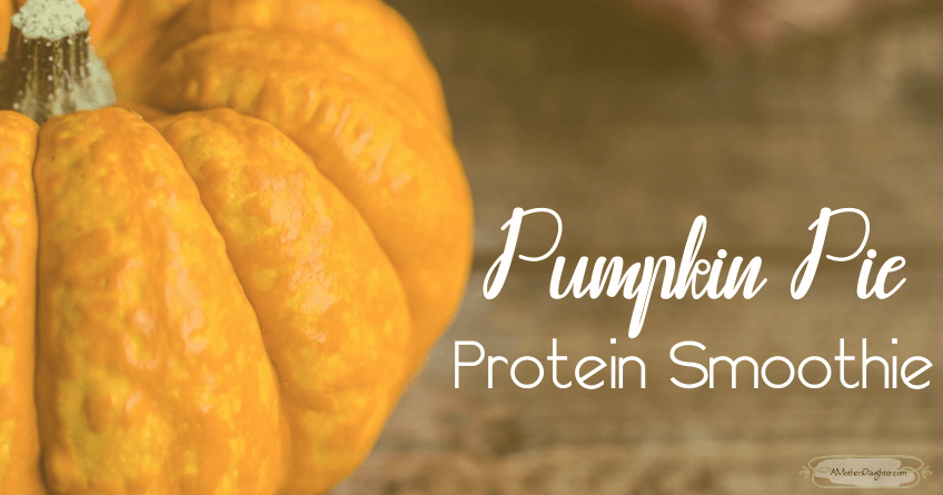 Delish Pumpkin Pie Protein Smoothie [Recipe] 1
