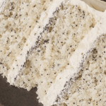 Poppy Seed Layered Cake [Recipe]