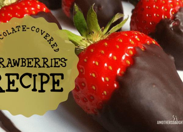 Chocolate Covered Strawberries Recipe 2