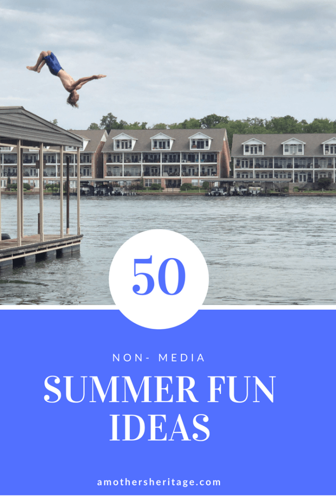 50 summer fun ideas