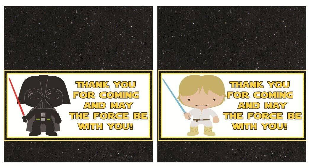Free Printable Star Wars Birthday Bundle