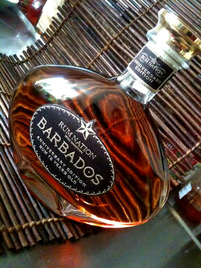 Rum Nation Barbados Anniv Edition bottle