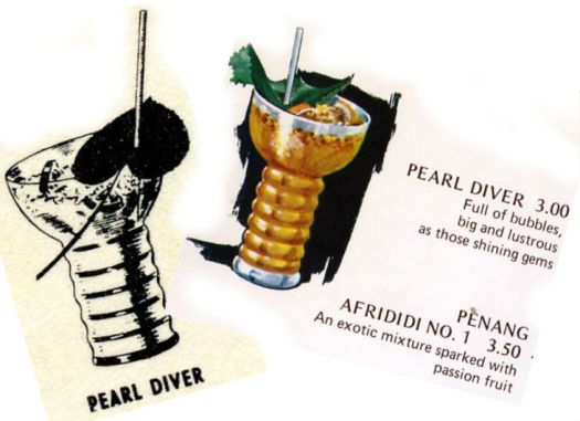 Pearl Divers collage