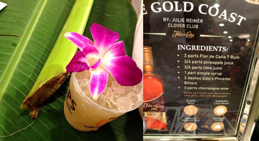 Flor de Cana cocktail The Gold Coast