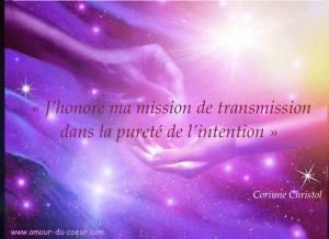 Reïki -transmission