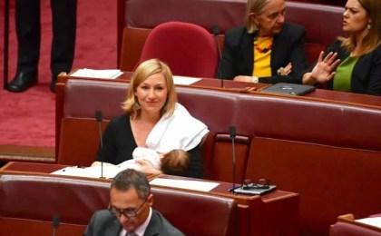 allaitee au parlement