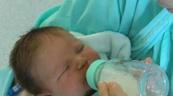 faire accepter le biberon à bébé allaité