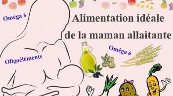 alimentation idéale de la maman allaitante