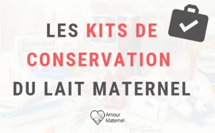 kit conservation lait maternel avent medela et tommee tippee