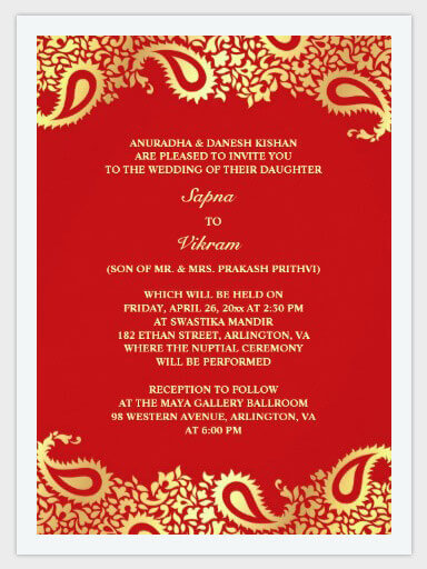 A Complete Guide On Wedding Invitations