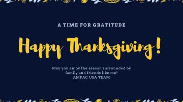 A Reason To Be Grateful – Thanksgiving Day 2019