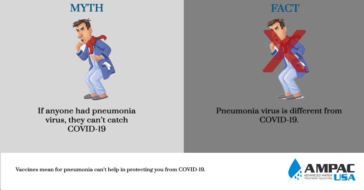 If anyone had pneumonia virus, they can't catch COVID-19