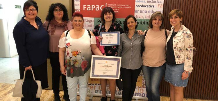 HEM QUEDAT FINALISTES DELS PREMIS FaPaC amb el projecte ACOMPANYEM-LOS