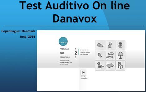 Test auditivo online