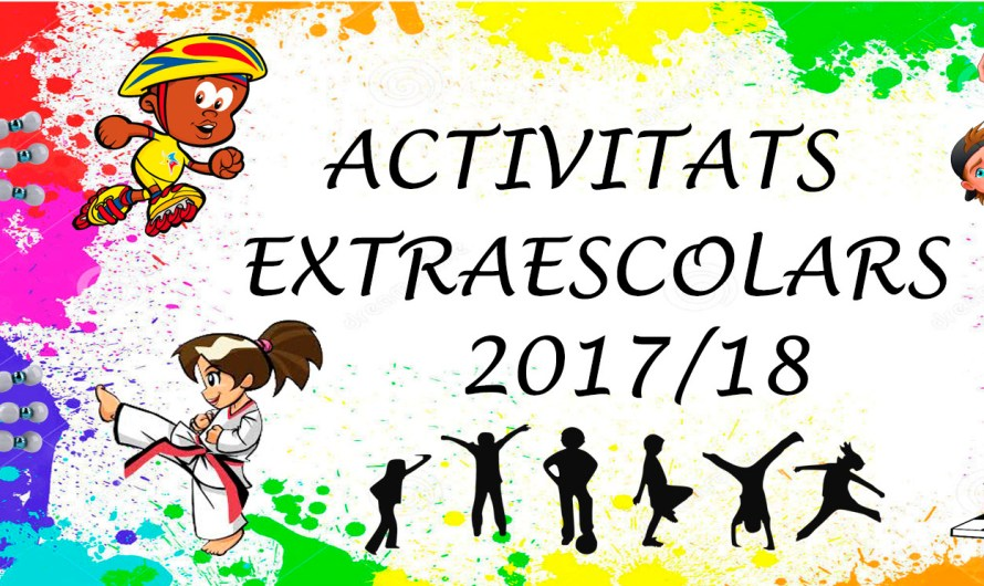 Activitats extraescolars 2017/18