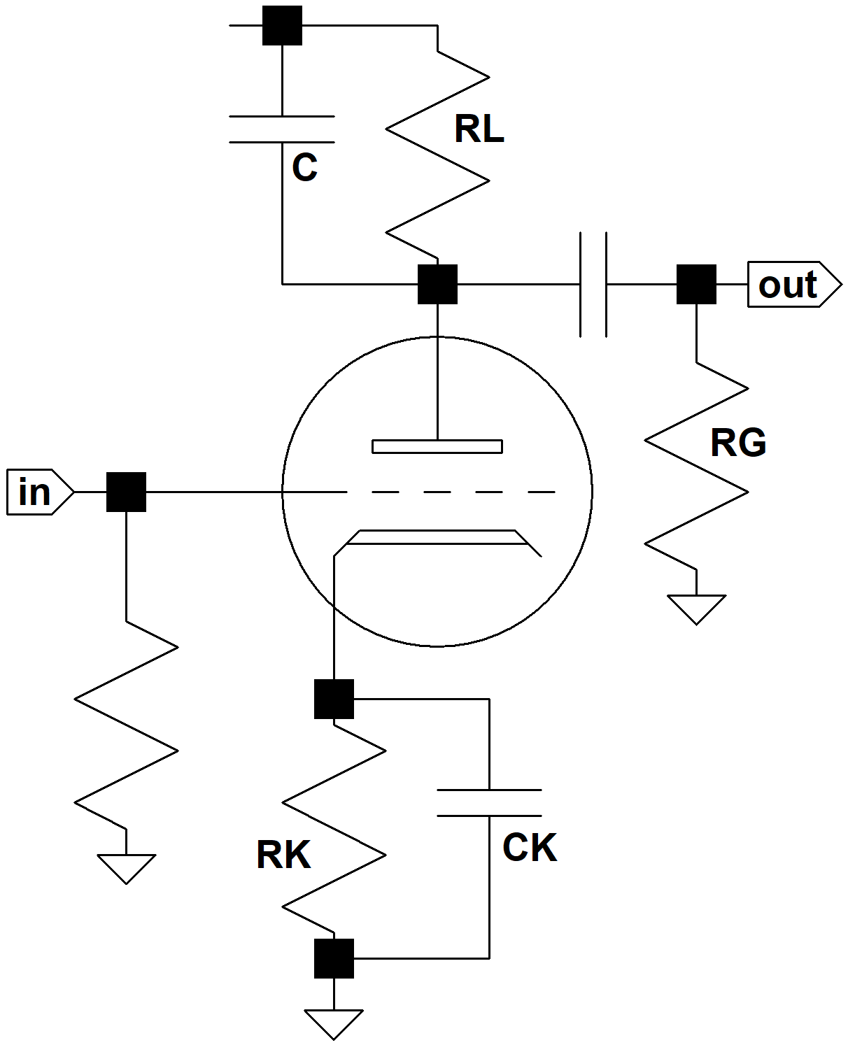 Plate Bypass Capacitor Calculator