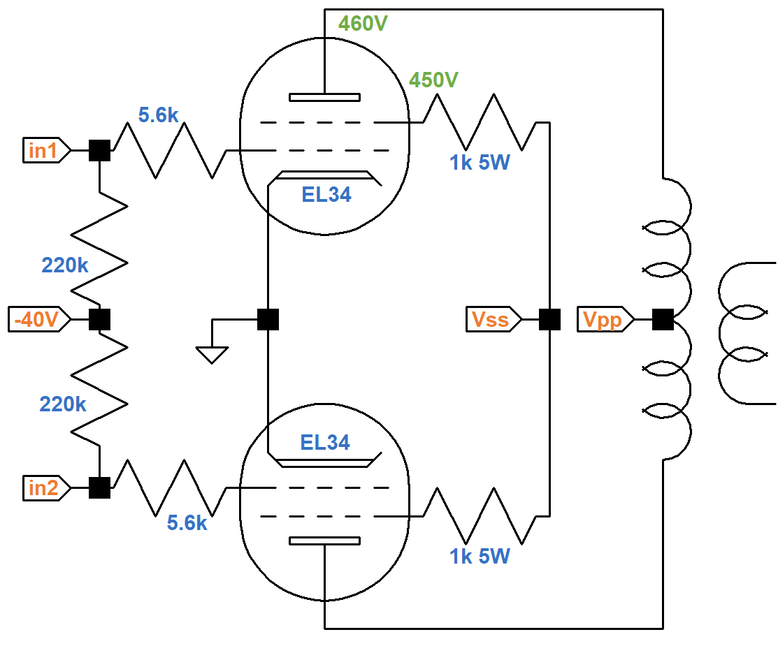Marshall Jcm800 Model Power Amp