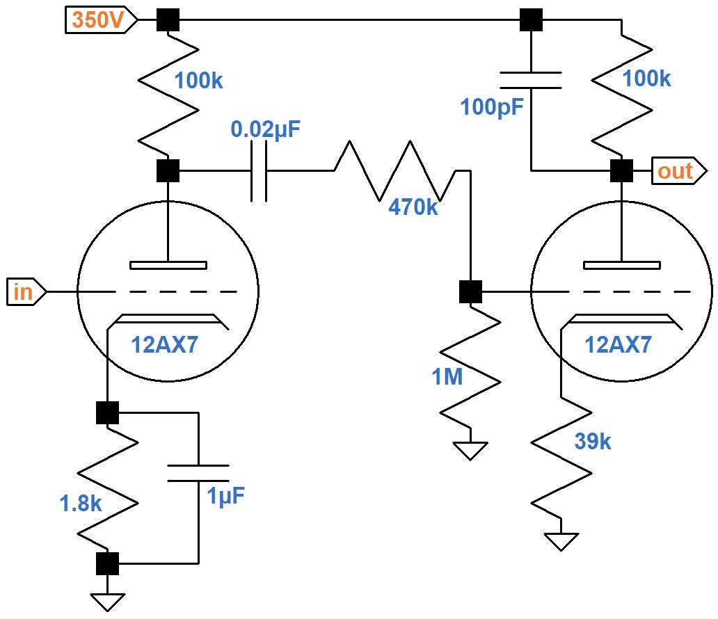 Soldano Super Lead Overdrive Channel Circuitysis