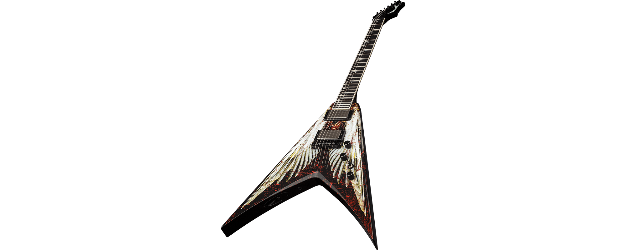Dean Dave Mustaine V Angel Of Electric Guitar W Case