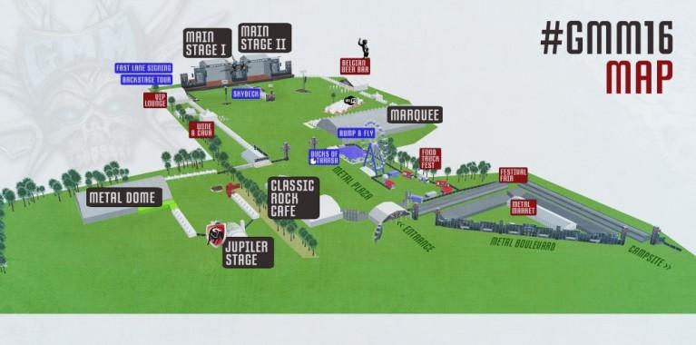Het festivalpark