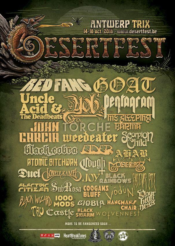 desertfest 25 juli