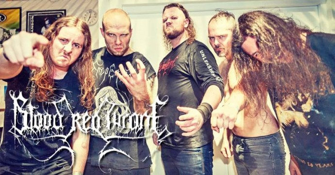Blood Red Throne band