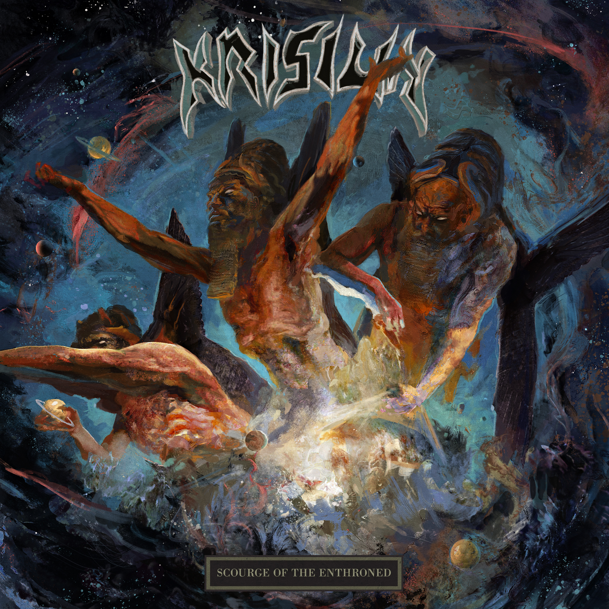 Krisiun - Scourge Of The Enthroned cover