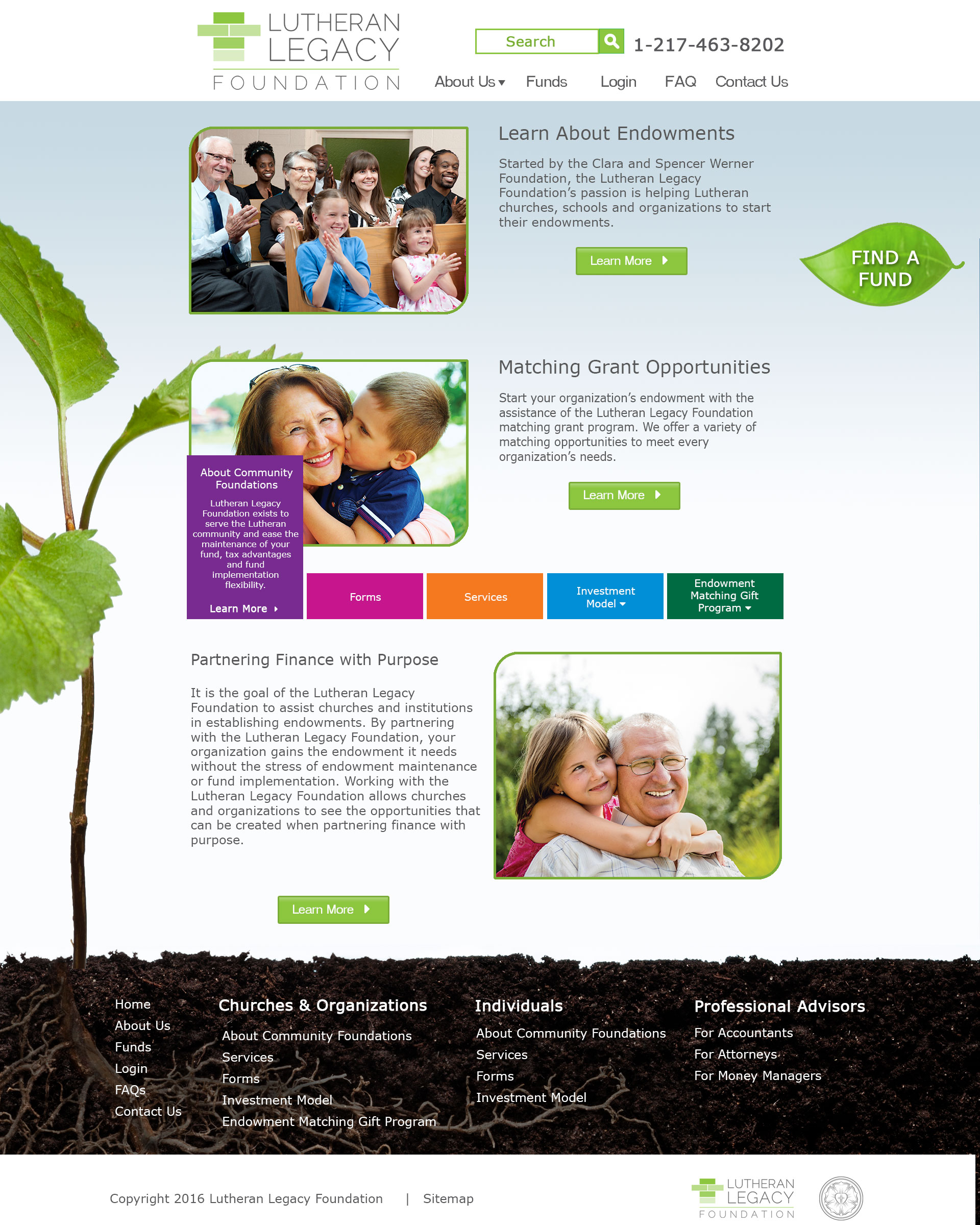 Lutheran Legacy Foundation Organizations - Hover