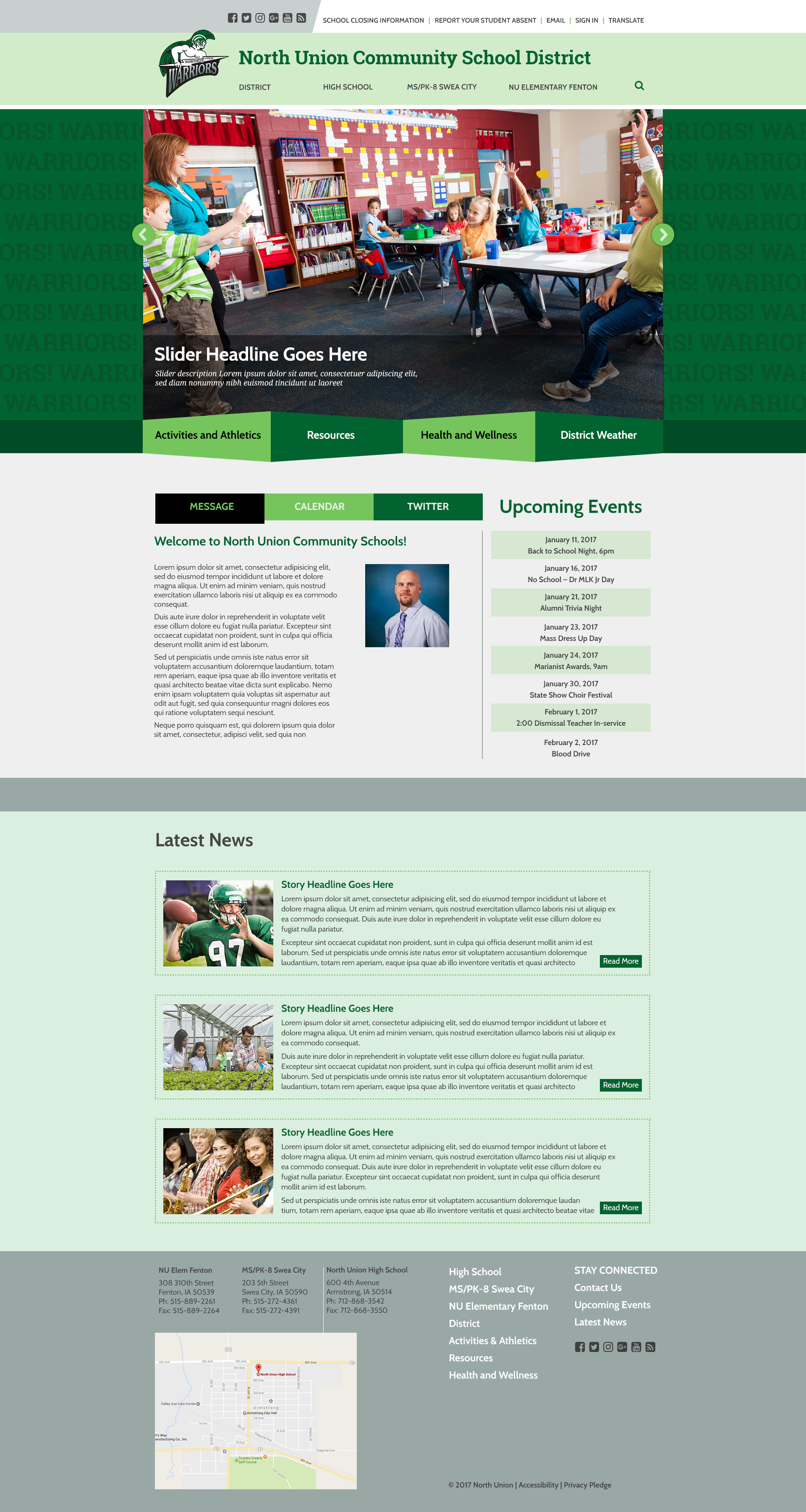 Design #1 - Homepage
