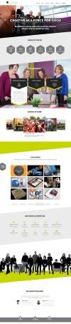 AMPERAGE Homepage Design
