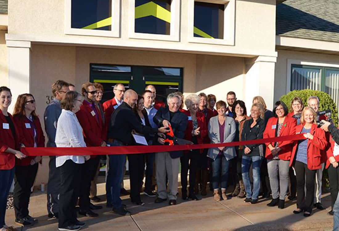 Wisconsin Ribbon Cutting