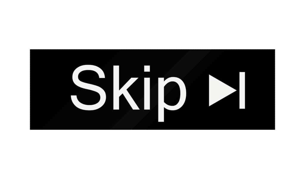 Skip Video Button
