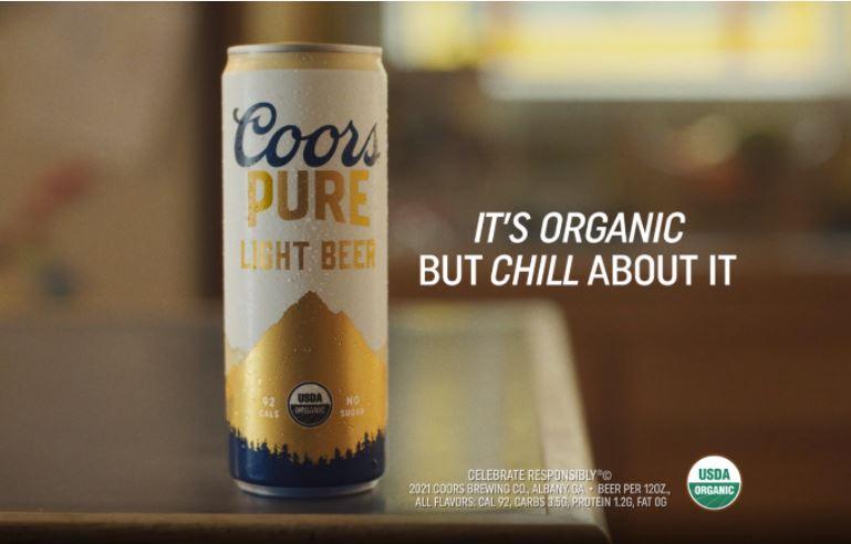 Coors Pure Organic Ad
