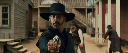 Denzel Washington in The Magnificent Seven (Village Roadshow Pictures