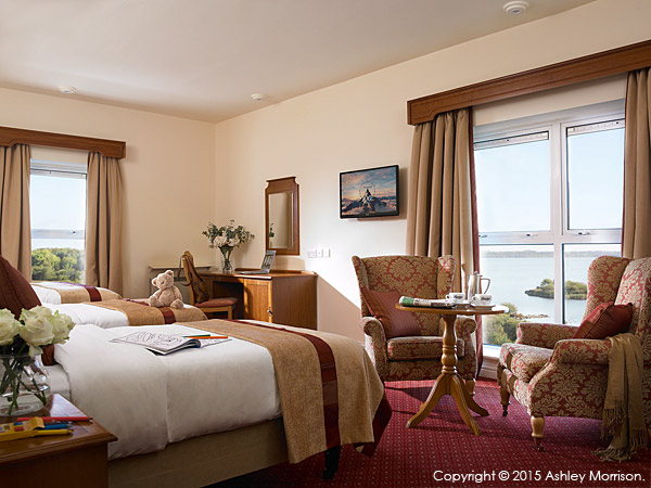 The Family bedroom at the Hodson Bay Hotel.