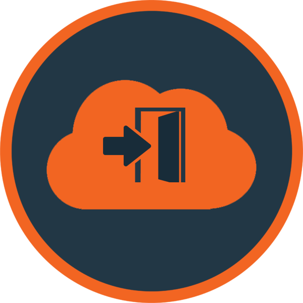 De-Clouding Orange Icon