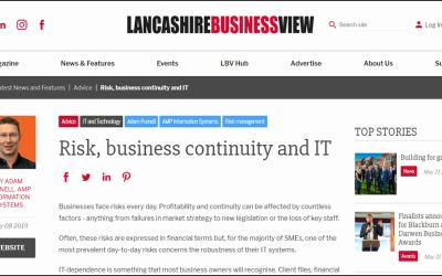 Business Continuity Article on LBV