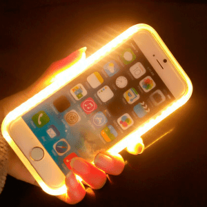 Iphone 6 Plus Carcasa LED sublimacion 2D Policarbonato