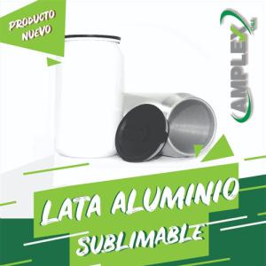 Lata Aluminio Sublimable