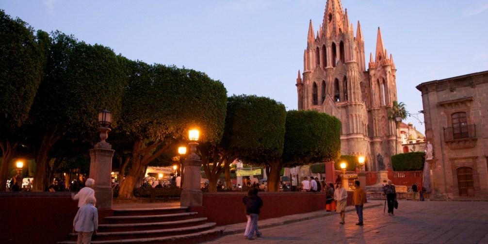 San Miguel de Allende , Jardin , Guanajuato , Mexico