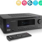 Pyle 5.2-Channel Hi-Fi Bluetooth Stereo Amplifier