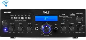 Pyle PDA6BU.5 Compact Bluetooth Desktop Audio Amp Receiver