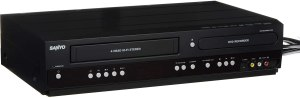 Sanyo DVD/VCR Recorder